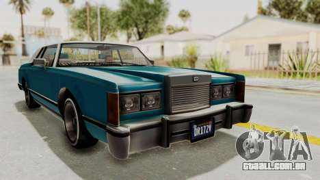 GTA 5 Dundreary Virgo Classic Custom v3 IVF para GTA San Andreas vista direita