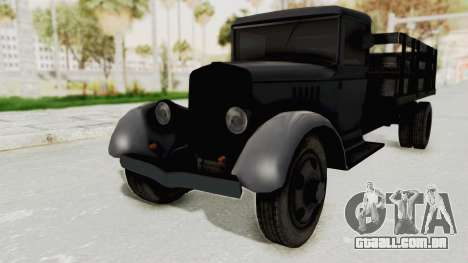 Ford AA from Mafia 2 para GTA San Andreas vista direita