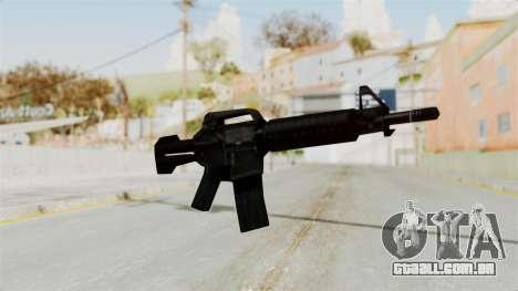 Liberty City Stories M4 para GTA San Andreas segunda tela