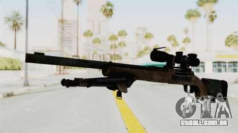 M24 Sniper Ghost Warrior para GTA San Andreas segunda tela
