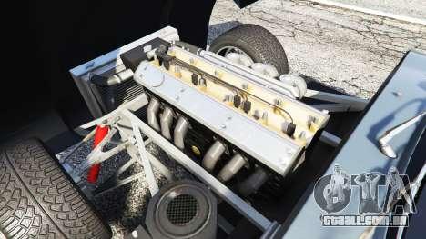 GTA 5 Eagle Speedster 2012 traseira direita vista lateral