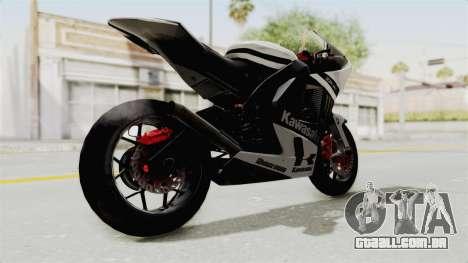 Kawasaki Ninja ZX-RR Streetrace para GTA San Andreas vista direita