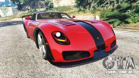 Devon GTX 2010 v0.2 para GTA 5