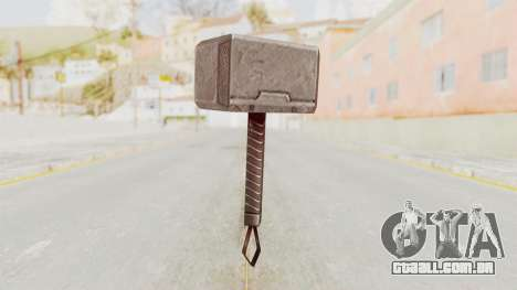 Marvel Future Fight - Mjolnir para GTA San Andreas segunda tela
