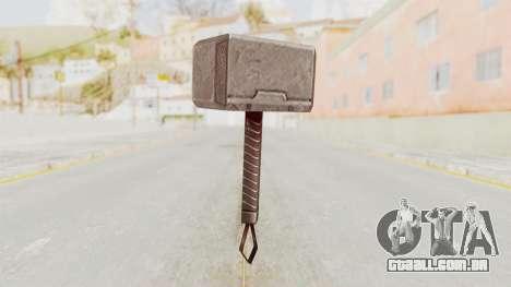 Marvel Future Fight - Mjolnir para GTA San Andreas segunda tela