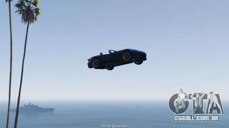 GTA 5 Simple Ramp Spawner With Speed Boost 0.3 quarto screenshot