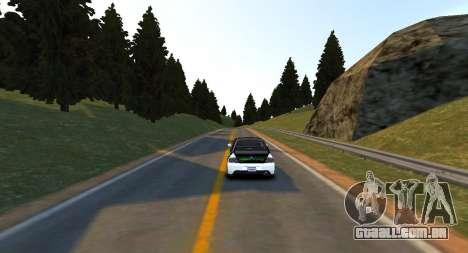 Hill Monument Pista para GTA 4 terceira tela