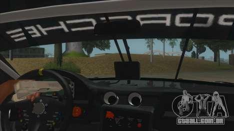 2016 Porsche 911 RSR para GTA San Andreas vista interior