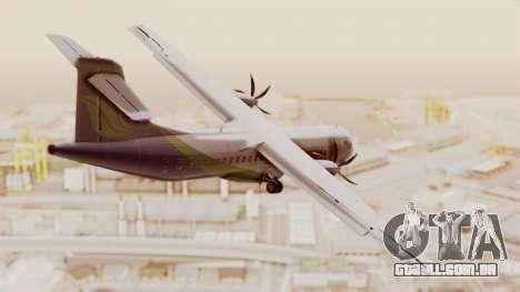 ATR 72-500 MASwings para GTA San Andreas esquerda vista