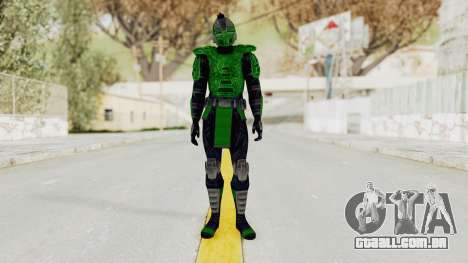 Cyber Reptile MK3 para GTA San Andreas segunda tela