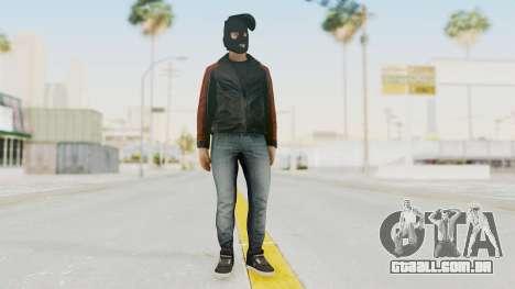 GTA 5 DLC Heist Robber para GTA San Andreas segunda tela