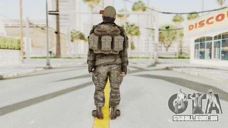 COD BO SOG Woods v2 para GTA San Andreas terceira tela