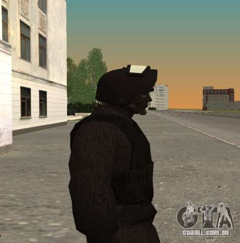 FSB alfa v1 para GTA San Andreas por diante tela