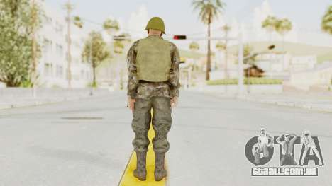 MGSV The Phantom Pain Soviet Union VH Sleeve v2 para GTA San Andreas terceira tela