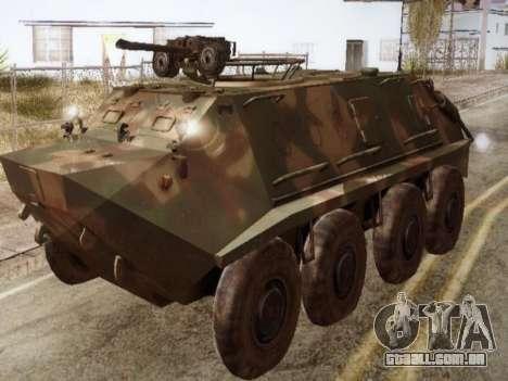 BTR 60 PA para GTA San Andreas