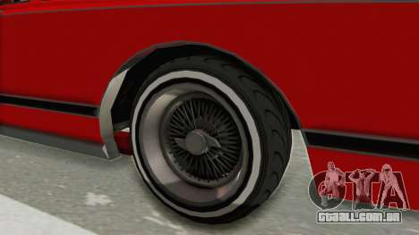 GTA 5 Dundreary Virgo Classic Custom v2 para GTA San Andreas vista traseira