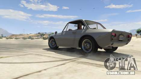 GTA 5 Lancia Fulvia vista lateral direita