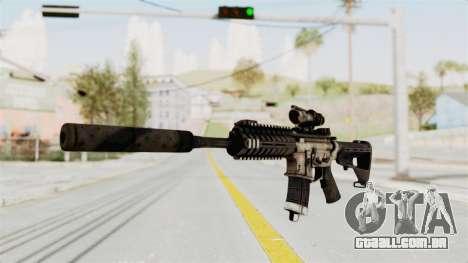P416 Silenced para GTA San Andreas segunda tela