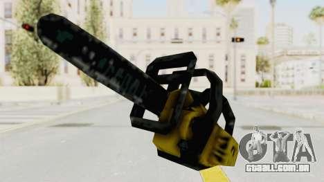 Liberty City Stories Chainsaw para GTA San Andreas segunda tela