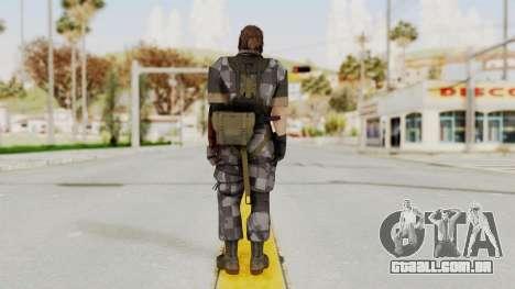 MGSV The Phantom Pain Venom Snake No Eyepatch v7 para GTA San Andreas terceira tela