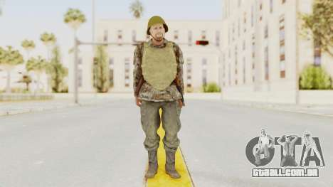 MGSV The Phantom Pain Soviet Union VH Sleeve v2 para GTA San Andreas segunda tela