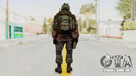 Battery Online Russian Soldier 8 v1 para GTA San Andreas terceira tela