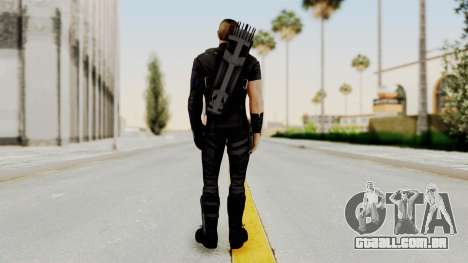 Captain America Civil War - Hawkeye para GTA San Andreas terceira tela