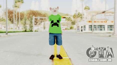 Rat Kid para GTA San Andreas segunda tela