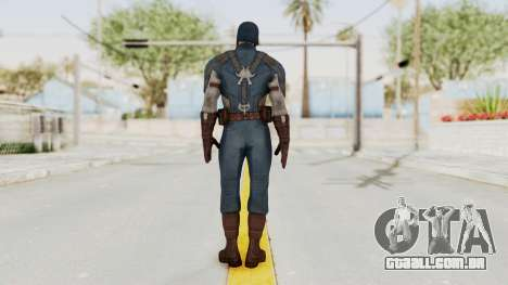 Captain America Civil War - Captain America para GTA San Andreas terceira tela