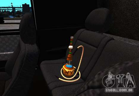 VAZ 2113 para GTA 4 vista interior