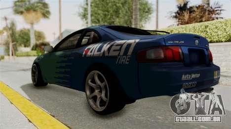 Toyota Celica GT Drift Falken para GTA San Andreas esquerda vista