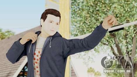 Captain America Civil War - Peter Parker para GTA San Andreas