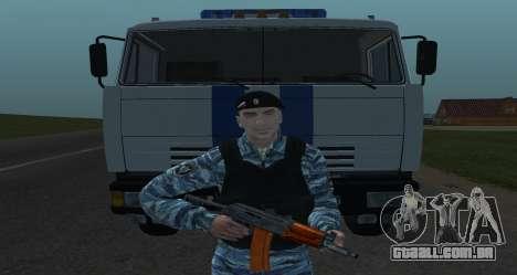 Um Motim Policial para GTA San Andreas terceira tela