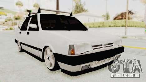Tofas Dogan SLX Koni para GTA San Andreas traseira esquerda vista