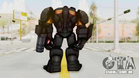 Marvel Future Fight - Hulk Buster Heavy Duty v1 para GTA San Andreas terceira tela