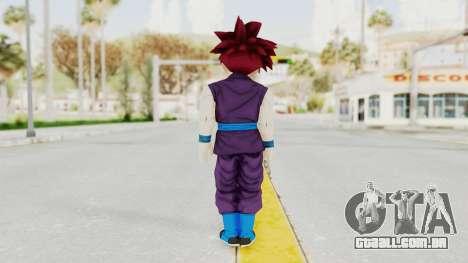 Dragon Ball Xenoverse Gohan Teen DBS SSG v1 para GTA San Andreas terceira tela