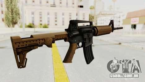 HD M4 v2 para GTA San Andreas segunda tela