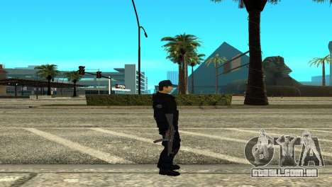 Police SWAT Skin for GTA San Andreas para GTA San Andreas segunda tela