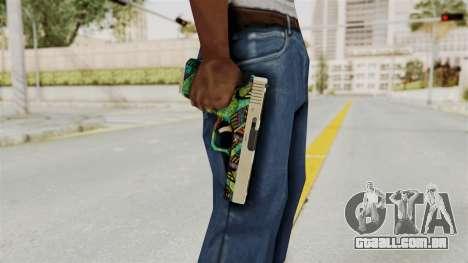Glock 18C para GTA San Andreas terceira tela