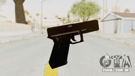 Liberty City Stories - Glock 17 para GTA San Andreas terceira tela