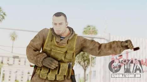 MGSV The Phantom Pain Soviet Union Sniper para GTA San Andreas