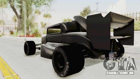 Ford 32 F1 para GTA San Andreas esquerda vista