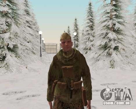 Pak combatentes do exército vermelho para GTA San Andreas quinto tela