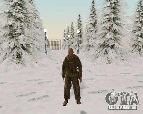 Pak combatentes do exército vermelho para GTA San Andreas sexta tela