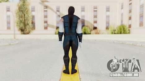 Mortal Kombat X Klassic Sub Zero v2 para GTA San Andreas terceira tela