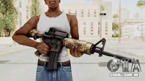HD M4 v3 para GTA San Andreas