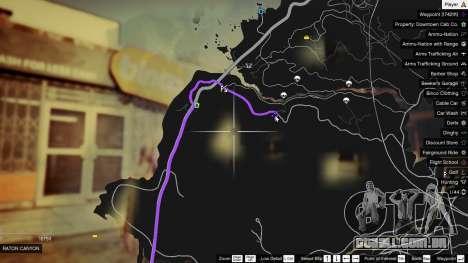 GTA 5 Treasure Map V segundo screenshot