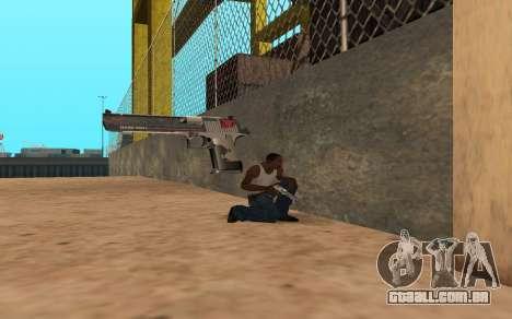 Desert Eagle Cyrex para GTA San Andreas quinto tela