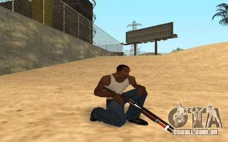 Shotgun Cyrex para GTA San Andreas sexta tela