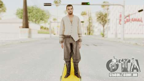 AC Brotherhood - Ezio Auditore Short Hair Civil para GTA San Andreas segunda tela